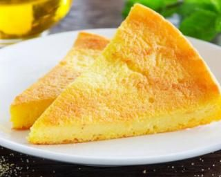 Gateau polenta sucree
