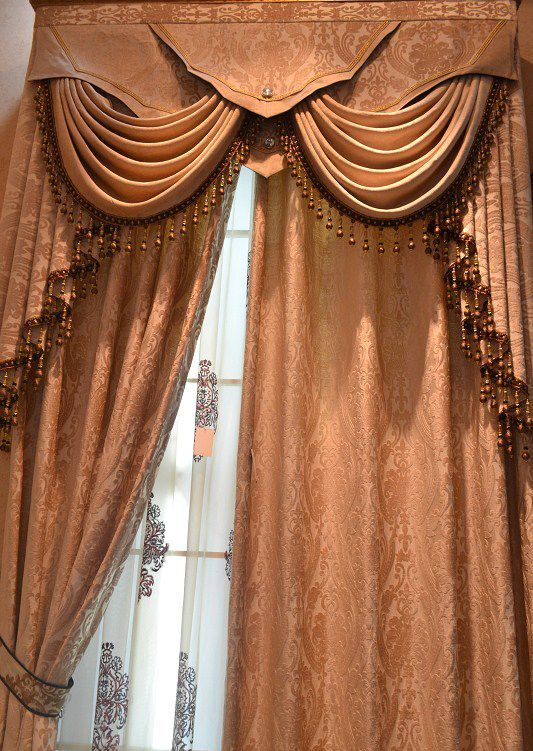 beautiful swags jabots louis eight valance interior