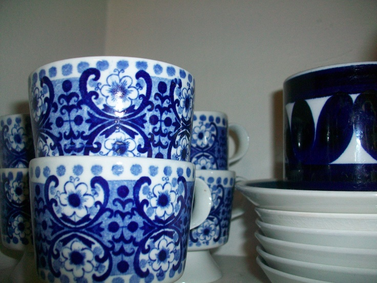 Arabia-china from Finland. Ali-coffee cups were in the production. photo_inka