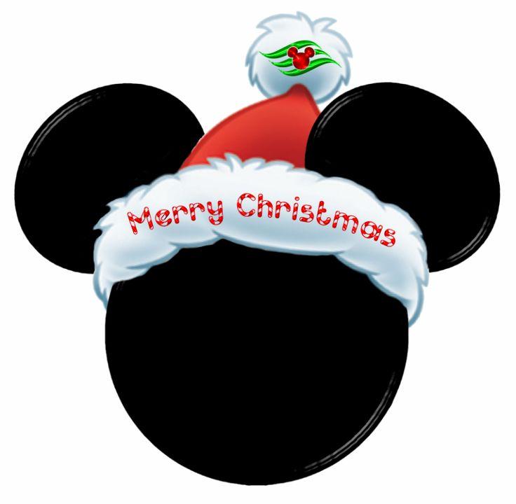 Merry Christmas Mickey Head