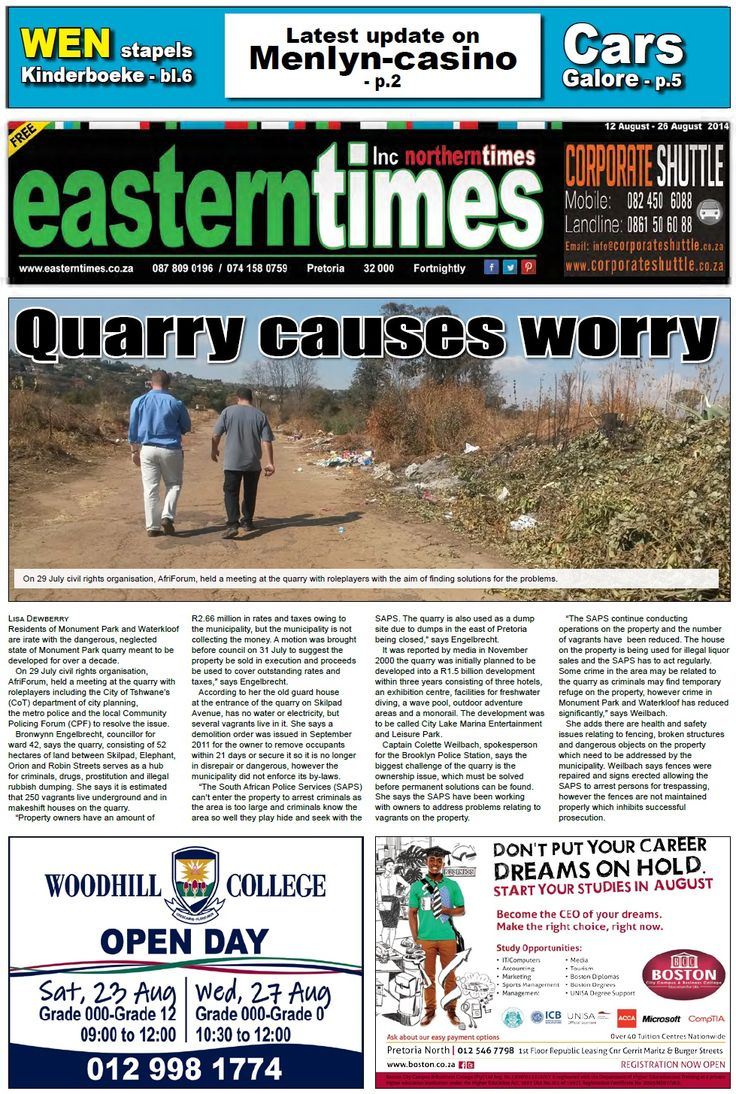 Front page 12 - 26 Aug