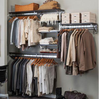 Orginnovations Inc Arrange a Space Best Closet Shelving System I & Reviews | Wayfair