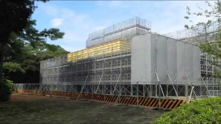 Construction Time-lapse | New annex of the TTM 東京都庭園美術館新館が完成するまで Date: December 11, 2011 - April 2, 2014