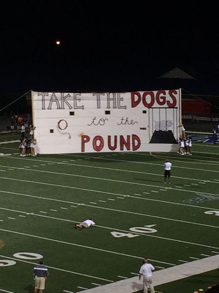 Football banner/run through