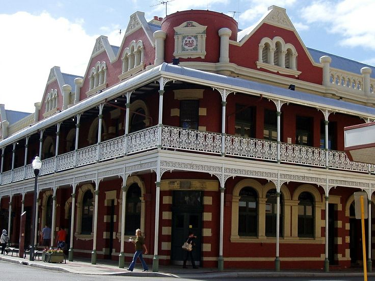 The P  O Hotel. Fremantle Loved living here!!!