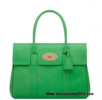 -2014 Cheap Mulberry Bayswater Queen Green Soft Grain,Mulberry Outlet Sale