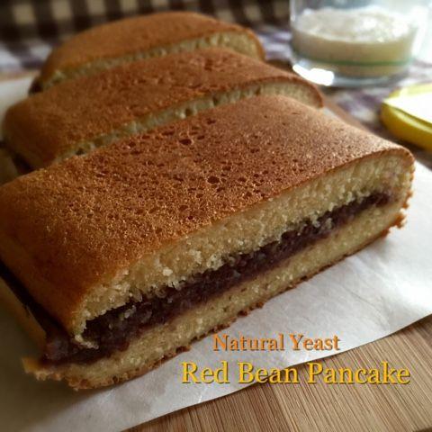 My Mind Patch: Natural Yeast Red Bean Pancake 天然酵母红豆面煎糕