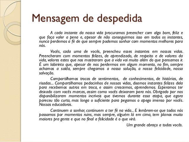 Mensagem Despedida Amiga: Resultado De Imagem Para Mensagem De Despedida Colega De