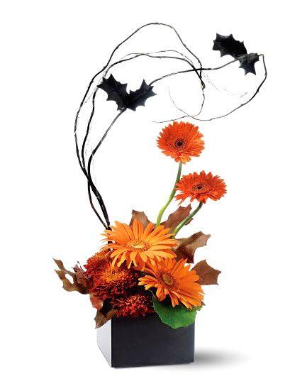 pumpkin floral arrangements | Halloween Arrangements