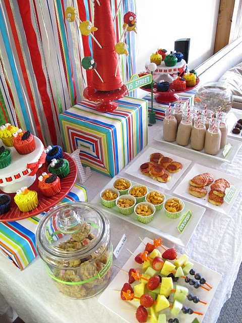 Sesame Street Party ideas