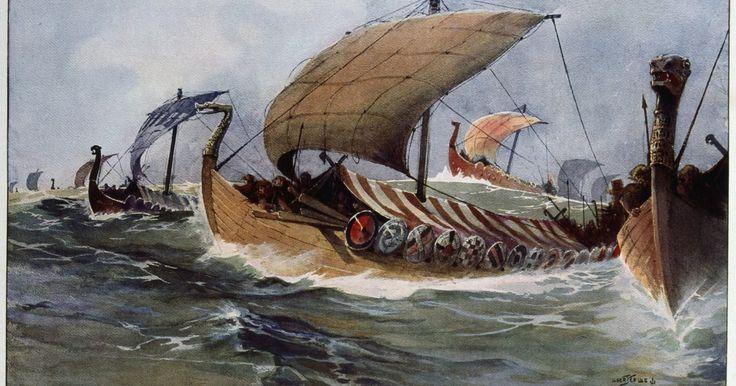 Como fazer uma barca viking em miniatura. Fazer seu próprio modelo em miniatura de uma barca viking é uma forma criativa de expressar sua paixão pela história. Os vikings usavam as barcas como uma maneira de transportar batalhões de homens e guerreiros através de grandes extensões de água. Cada barca incluía remos que se estendiam para a água à esquerda e à direita. Os passageiros remavam ...
