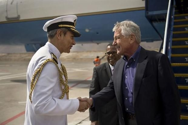 Speaking at the Conference of Defense Ministers of the Americas in Arequipa, Peru on Monday, U.S. Secretary of Defense Chuck Hagel outlined the challenges that climate change presents to the military and national security.
