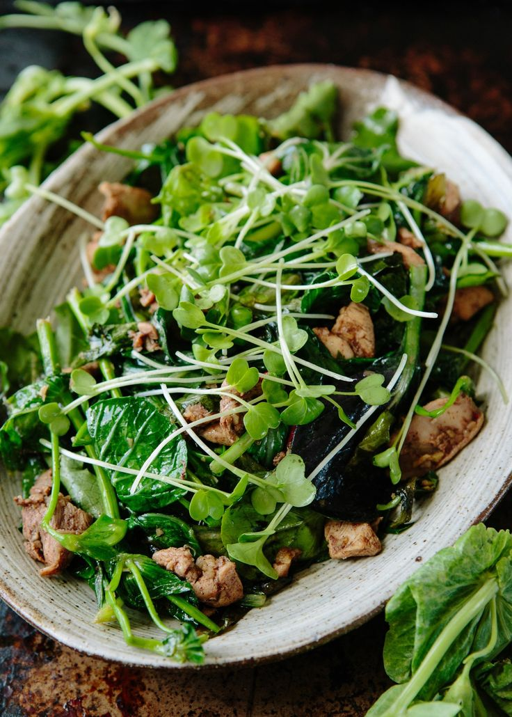 Recipe: Nigel Slater's Five-Spice Chicken & Pea Shoot Salad — Recipes from The Kitchn