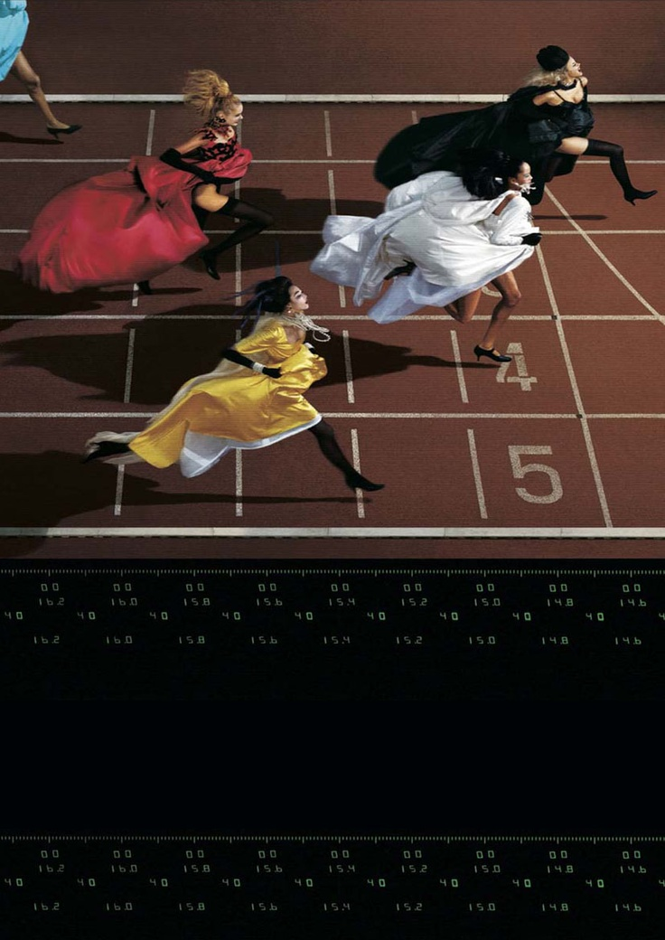 Photo Finish (1997) by Jean Paul GOUDE