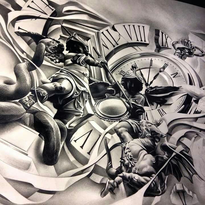 Stunning drawing pencil works by David Reveles