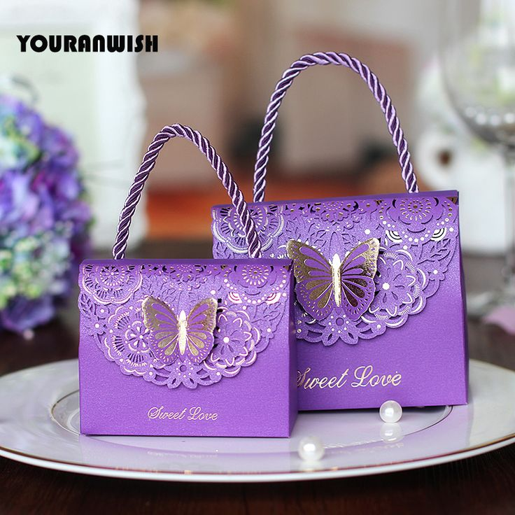 50pcs/lot High quality Laser Cut Butterfly Flower Gift Bags Candy Boxes Wedding favors Portable Gift Box Party Favor Decoration-in Gift Bags & Wrapping Supplies from Home & Garden on Aliexpress.com | Alibaba Group