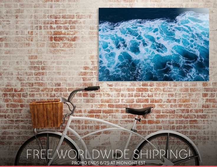 Discover «waves», Limited Edition Acrylic Glass Print by haroulita - From 95€ - Curioos