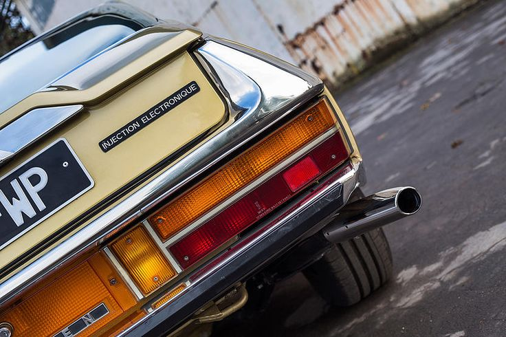 1970 Citroën SM Coupe - restored.