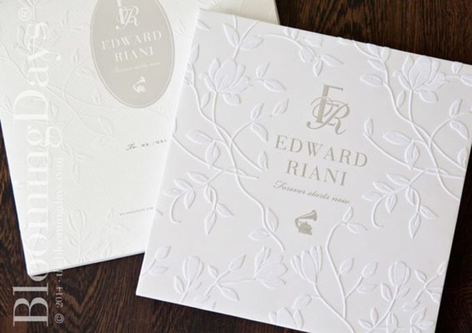 EDWARD & RIANI by BloomingDays Invitation Studio - 003
