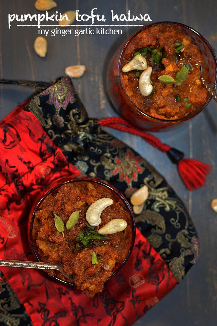 Exotic Pumpkin Tofu Halwa! #Diwali #sweets, #festival #foodphotography, #Foodstyling, Indian food styling photography, indian sweets, #Indianfood #vegetarian  #Halwa, #Pumpkin, #tofu, #Vegan