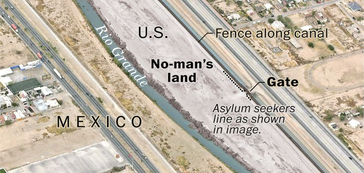 this photo shows why a border wall won t stop immigration on border wall id=46728