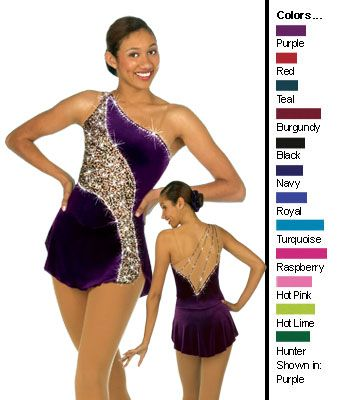 sharene's skateware figure skating dress