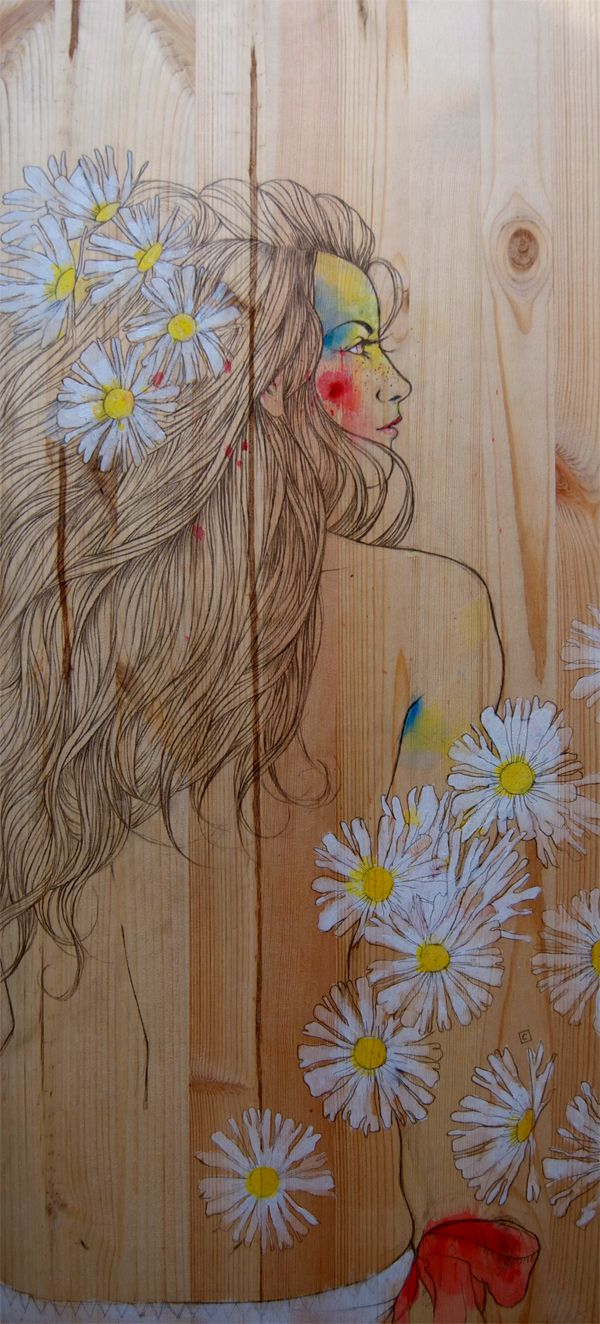 Graffiti art on wood - Find This Pin And More On Art Wood
