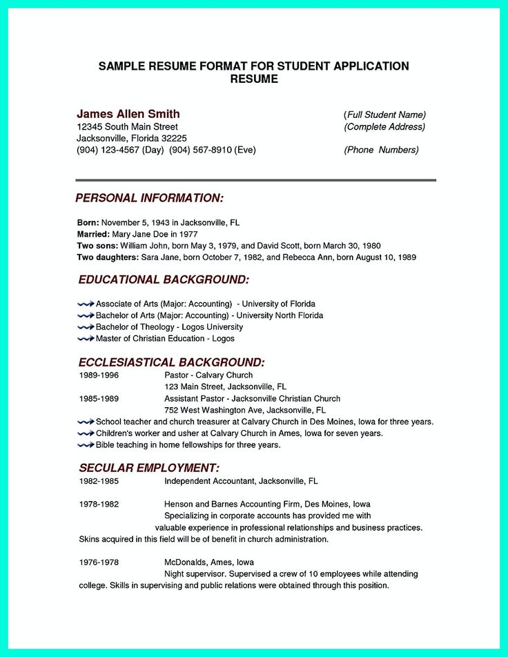 18 best Work images on Pinterest Career planning, Frugal living - high school resume examples for college admission