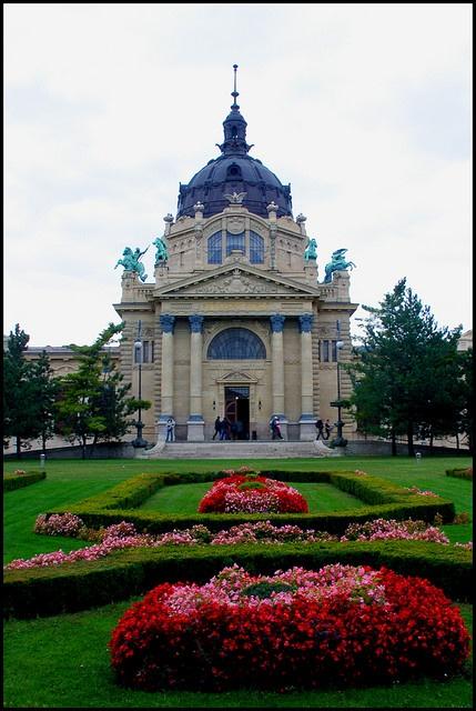 Széchenyi Bath House, Budapest, HUNGARY
