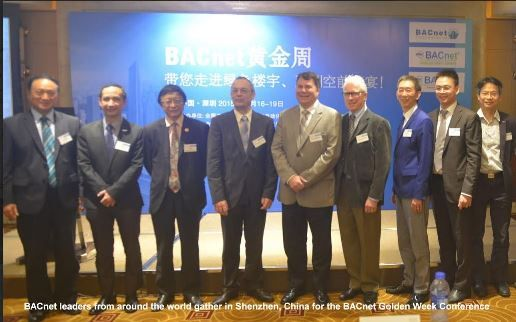 Leaders at BACnet Golden Week  in the Spotlight in Shenzhen, China