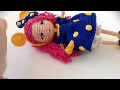 Como tejer piernas muñeca Valentina amigurumi By Petus PRIMERA PARTE (1/7) - YouTube