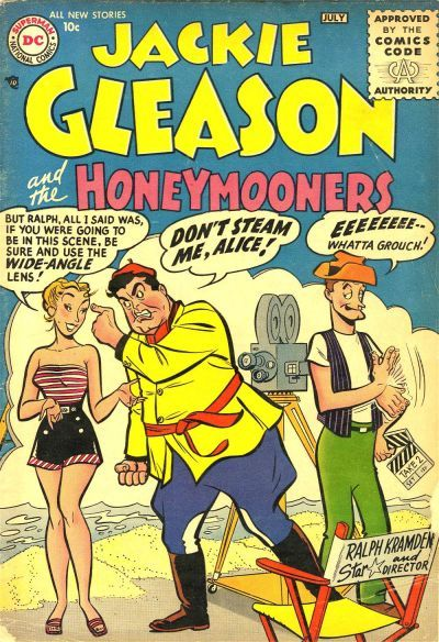 Jackie Gleason and The Honeymooners DC Comic Book 1956