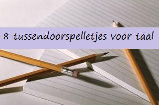 Taalspelletjes - KlasvanjufLinda.nl - vol met leuke lesideeën en lesidee