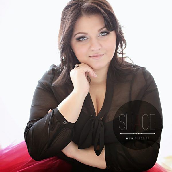 Glamour Plus Size Fotografie ela conquore red tulle skirt shace