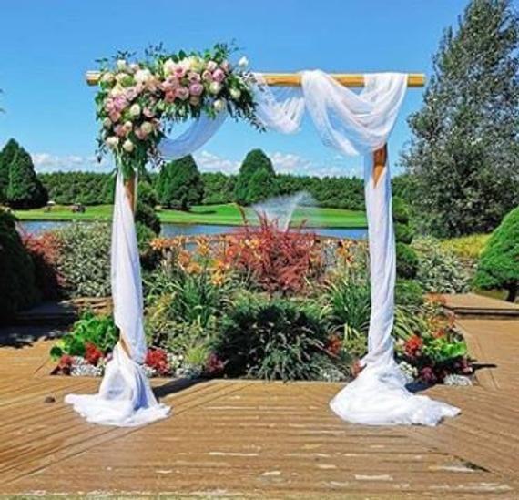 Wedding Arch Scarf Choose Your Color We Do Custom Sizes Wedding