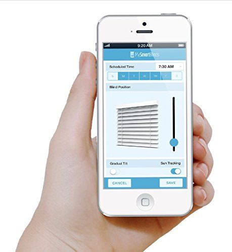 MySmartBlinds allows window blinds to be controlled remotely using a smartphone - http://extragizmo.com/2017/06/07/mysmartblinds-allows-window-blinds-to-be-controlled-remotely-using-a-smartphone/
