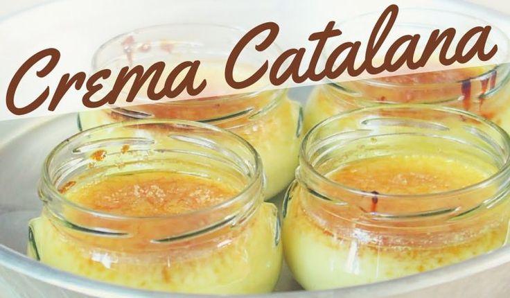 come preparare la crema catalana fatta in casa con ricetta facile e veloce, un dolce al cucchiaio al gusto di vaniglia, raffinato e goloso