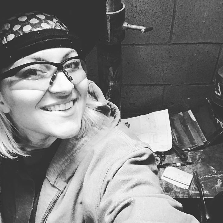 Lets go! #weldingstudent #welding #welder #stickwelding #SMAW #weldeverydamnday #womenwhoweld #weldernation #weldporn #welderbabes #bluecollar #trades #lincolnelectric #workingclass #dirtyhandscleanmoney #charleston #southcarolina #practiceplate #7018 #structural #insta_carolina