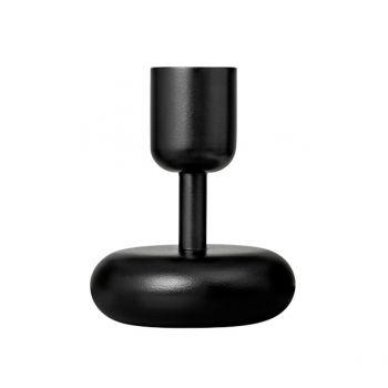 Nappula kynttilänjalka, musta