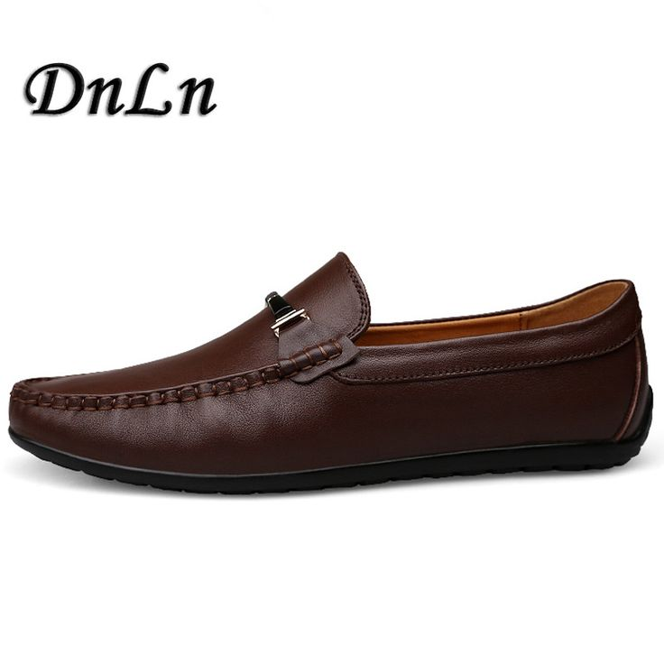 Men'S Loafers High Quality Cow Leather Man Driving Shoes Casual Moccasins Male Flats Slip On Shoe Men D30