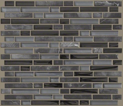 Ceramic Tile In Style Quot Mixed Up Quot 5 8 Linear Random Mosaic