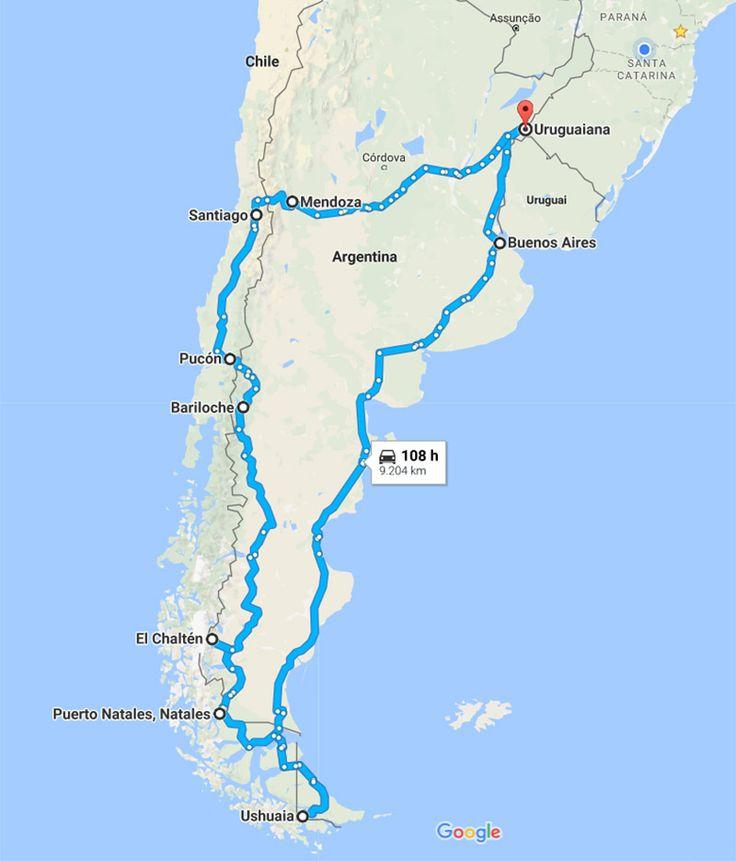 Roteiro pela Patagônia Argentina e Chile de carro