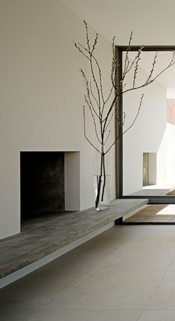 Brutalisme » 8isous: Fireplace by Harris Architects