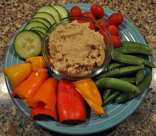 Losin' it with PINK: Cauliflower and White Bean Hummus