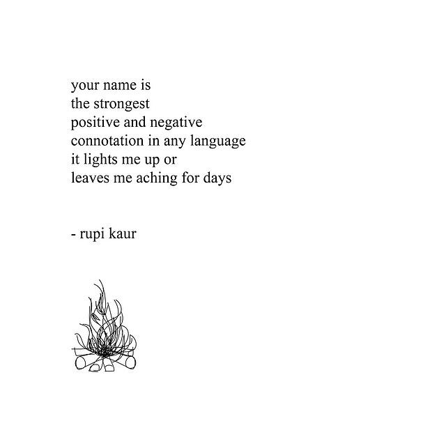 the power of your name - rupi kaur