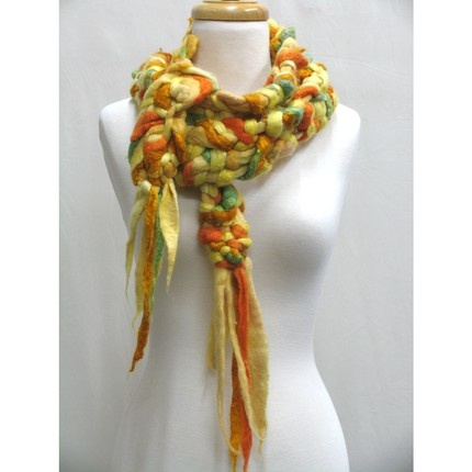 Gold Braid Scarf