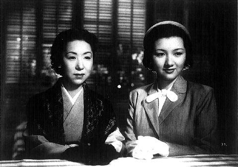 小津安二郎監督「宗方姉妹」1950年/田中絹代、高峰秀子