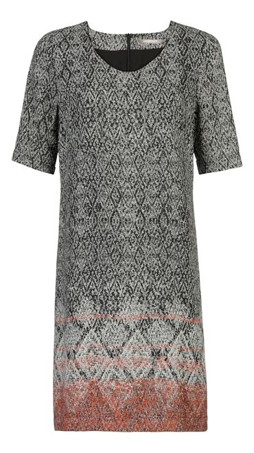 Sandwich Tweed Border Print Dress £119 at www.lbdboutique.co.uk style number 1521590219