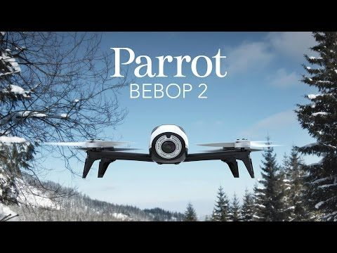 Parrot Bebop 2. Your flying companion lightweight and compact design, Built to last.