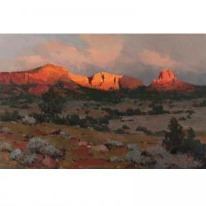 James Elwood Reynolds . Sunrise On Bell Rock